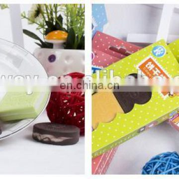 Creative colorful cookies erasers Chocolate erasers