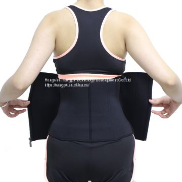 Factory Wholesale Private Label Tummy Slimming Belt Waist Trainer Trimmer Belt