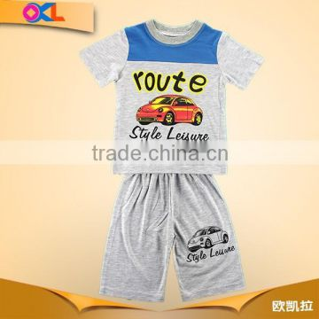 Hot selling high level new design delicated appearance boy summer short set