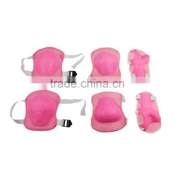 Pink Children Knee and Elbow Pad Set