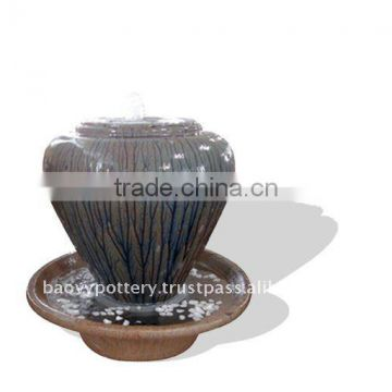 Ceramic fountain, ceramic water feature QQ