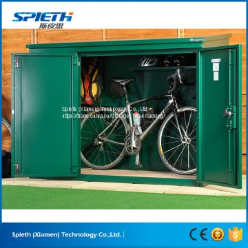 Top quality commercial furniture lockable outdoor bike storage lockers