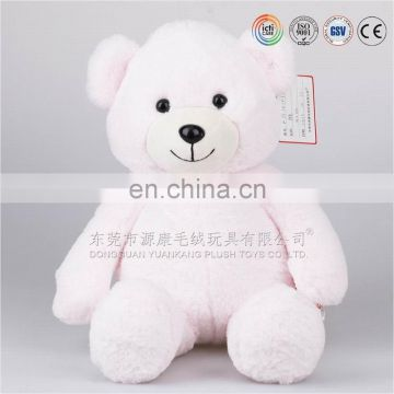Kids plush teddy bear toy for kids wal-mart icti audited factory