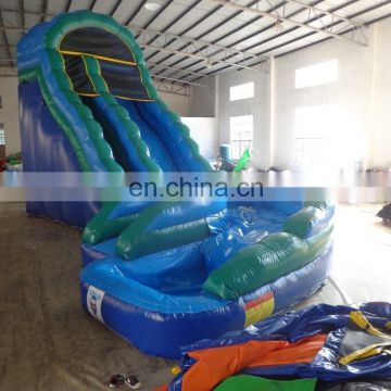 Hot sale giant inflatable water slide with curved slideway