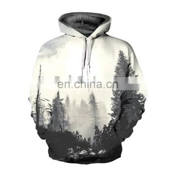 3D Digital Sublimation Hoodie Pullover Sweatshirt for Women Men