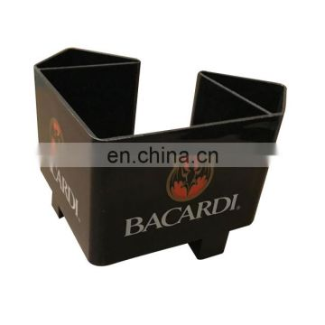 bar napkin straw holder/napkin holder/plastic bar caddy