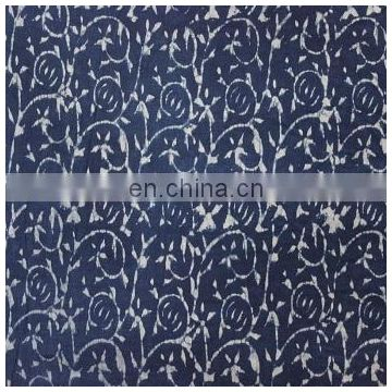 Indian Hand Made hand block print cotton fabric fab109 print fabr 3 Yards Fabric