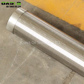 Pipe Based Water Well Drilling Use Stainless Steel Gravel Pack Screen