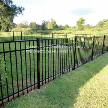 6ft cheap galvanized wrought iron ornamental fencing wholesale