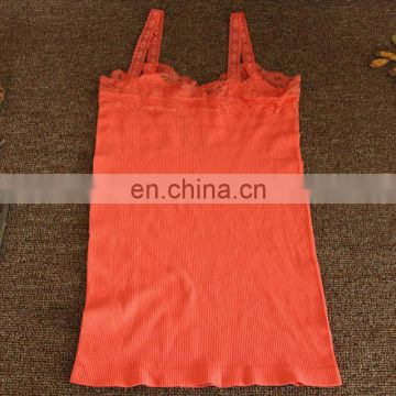 Women seamless underwear Camisole lace tank top Fitness