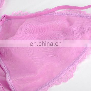 China Manufacturer Pretty Pattern Mature Women Sexy Lingerie Transparent Lingerie
