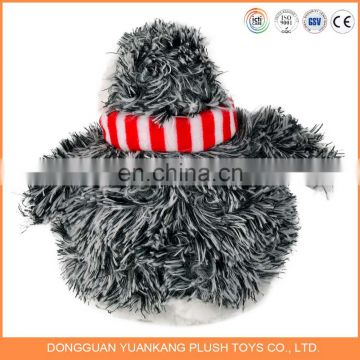 Custom design christmas penguin stuffed toy plush penguin toy