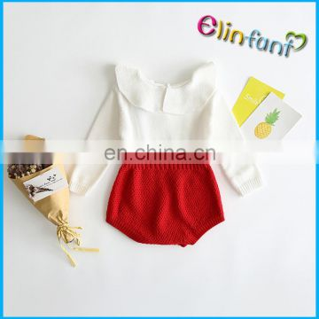 Elinfant Baby Cotton Wool Romper Knitting Patterns