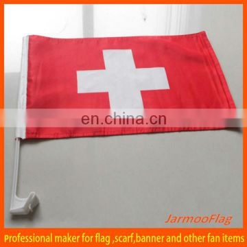 "12""X18"" polyester car flag"