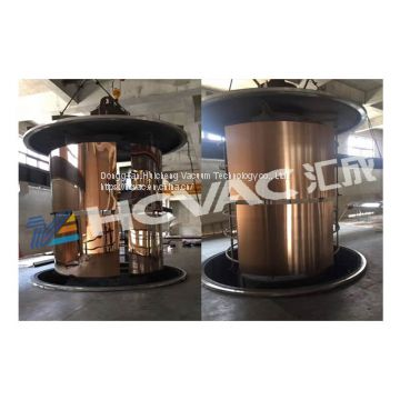 Decorative stainless steel sheet&pipe vacuum coating machine/black gold stainless steel plate pvd coating machine/vacuum coater (HCVAC)