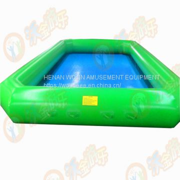 Durable customized size pvc inflatable swimming pool