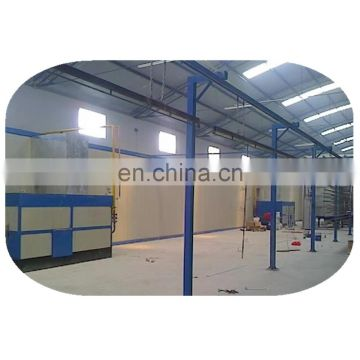 Excellent color powder coating line machine for aluminum windows and doors