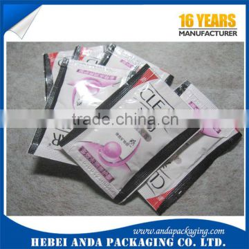 10ml Aluminium foil shampoo packaging sachet film/Cosmetic Sample sachet                                                                         Quality Choice