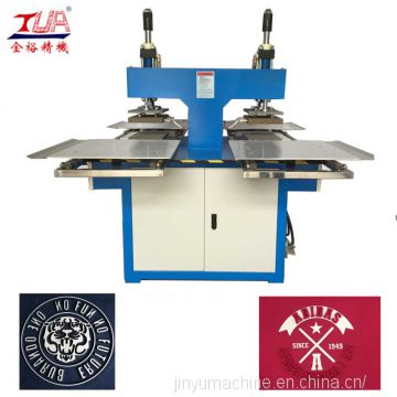 jinyu garment silicone heat transfer label making machinery