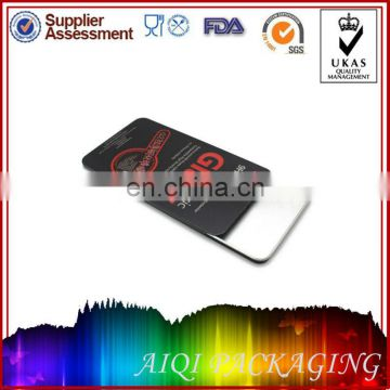 Sliding Tin box for packing screen protector