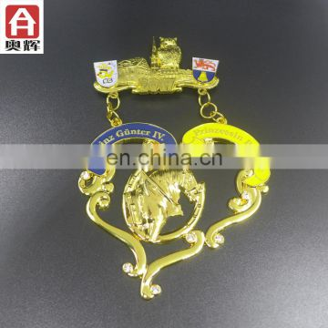 Hot sale die casting wholesale basketball medal
