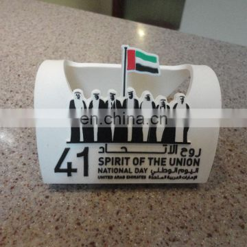 Rubber Mobile Stand, PVC Mobile phone holder, UAE National Day