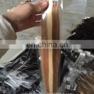Factory price new arrival wholesale 26 inches tape human hair extensions