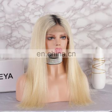 2018 hot sale brazilian hair 613 lace front wig