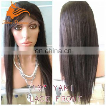 yaki short full lace wigs Italian yaki wigs for black women