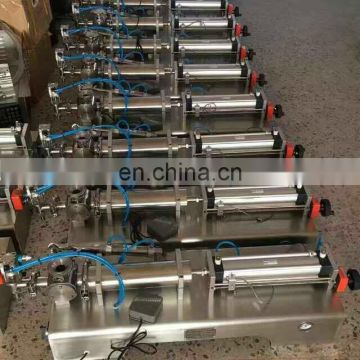 easy operation double head filling machine