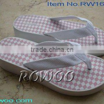 white braid durable slippers