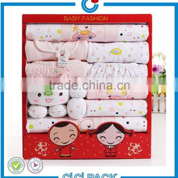 China Factory Professional Safe Baby Clothes Packaging Box, Paper Baby Garment Packag, Baby Apparel Paper Gift Box