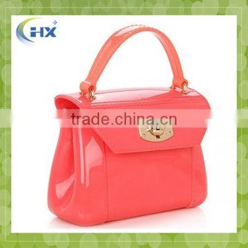 2015 hot selling promotional fashion woman silicone handbag