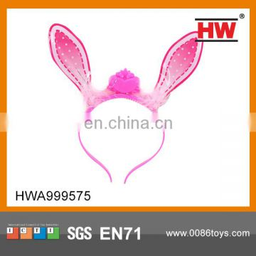 High Quality Flashing Kids Decorative Rabbit Ears Pin