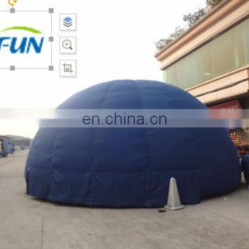 Mobile Inflatable planetarium dome for digital projection/ large inflatable tent of planetarium /Inflatable dome planetarium