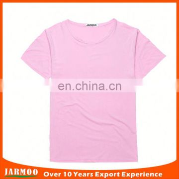 Logo printed on colorful casual 100% cotton t-shirts manufacturers