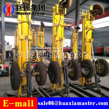 KQZ-180D Wheel Gas-electric linkage drill jack hammer dth drilling rig for  water well for sale