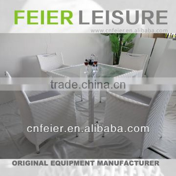 FEIER A6028 Rattan Corner Cheap Dining Sets