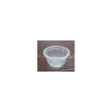 Disposable Yogurt cupsdisposable plastic salad cups 130ml