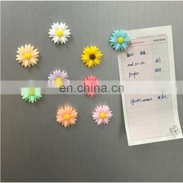Hot sale & high quality best selling 3d resin fridge magnet flower