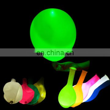 led balloon size 12 inch flashing led light balloon decorate party