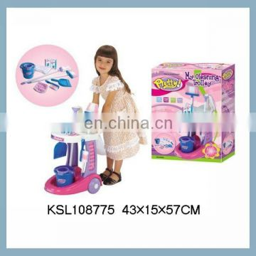 pretty funny cleaning trolley kids cleaning set