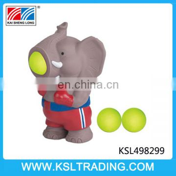 High quality elephant popper animal binyl toy production