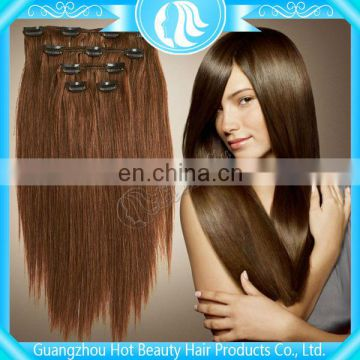 Hot Beauty 24 inch Clip in Human Hair Extensions
