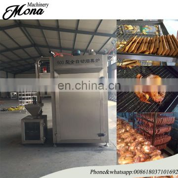 Bacon smokehouse oven/bacon smoking machines