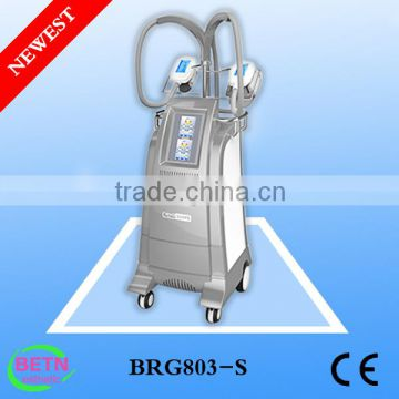 Beir 2016 Newest Two handles criolipolisis/ Freezing cellulite removal /coolshape body slimming machine BRG80s