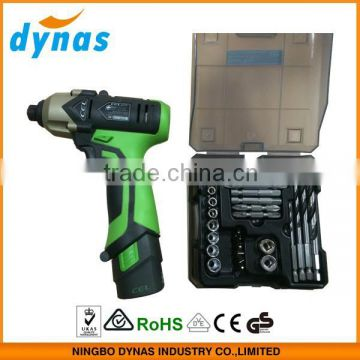 12V LI-ION professional mini electric cordless wrench/impact wrench