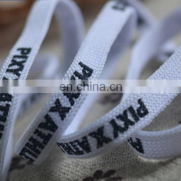 printed tubular webbing tape