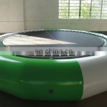 best quality commercial grade inflatable circle steel water trampoline for sale