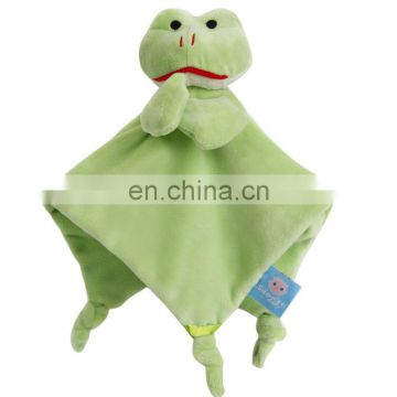 Frog Animals Plush Toys Baby Cradle Hand Towel
